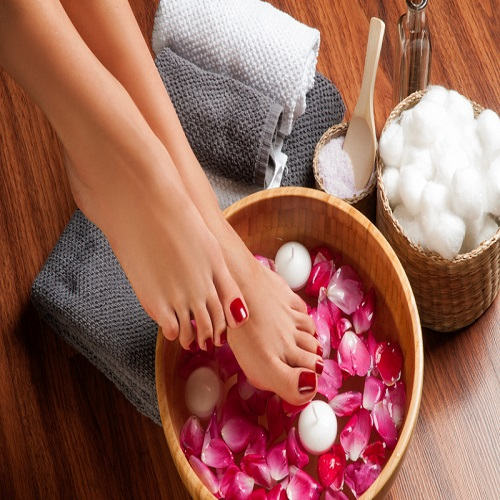 OUR MANICURES & PEDICURES